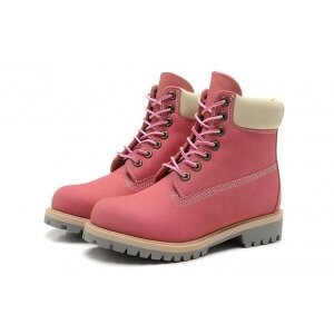 Ботинки Timberland ярко-розовые (осенние), женские 2015 667cc8084f6