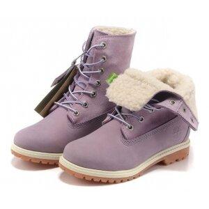 3f908ff0b9ba Timberland Teddy Fleece фиолетовые (зимние с флисом), женские 2027